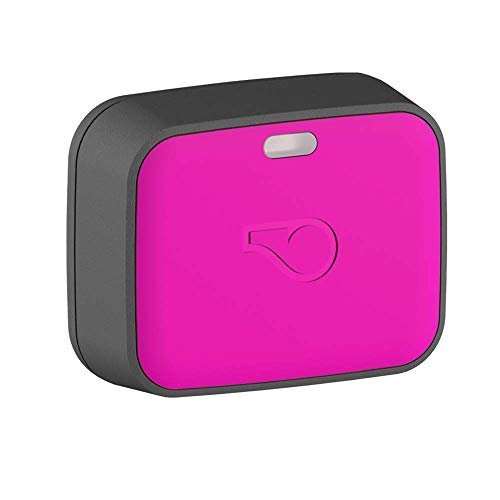 hot pink Whistle GO Explore high-tech pet tracker