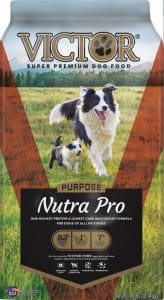 Victor Nutra Pro best dog food for boxers