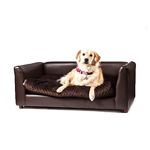 Ideas About Round Bonded Leather Chair Pet Bed