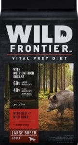 Wild Frontier large-breed food for boxers