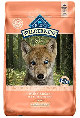 Blue Buffalo Wilderness large breed puppy food