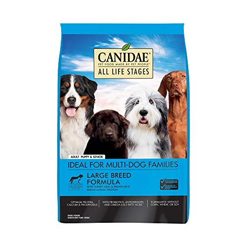 Canidae All Life Stages dog food for boxers and other large breeds