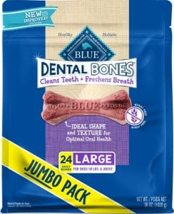 Blue Buffalo Dental Bones All-Natural Dog Treats