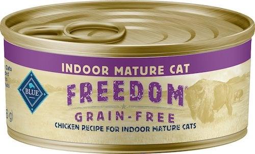 Blue Buffalo recipe for indoor mature cats