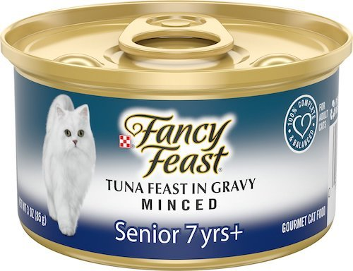 Fancy Feast canned food for senior cats