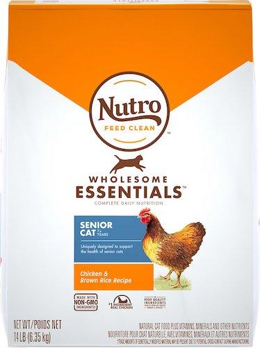 Nutro Wholesome Essentials for senior cats