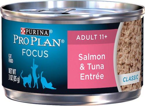 Purina Pro Plan salmon and tuna entree