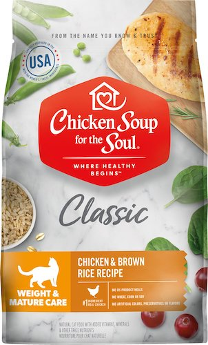 Chicken Soup for the Soul Classic senior cat food