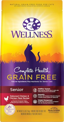 Wellness food for senior cats