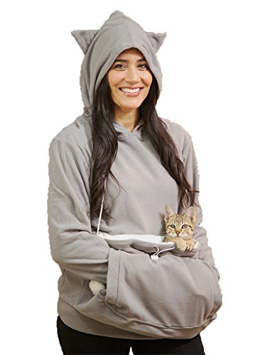 Kittyroo cat carrying cat hoodie