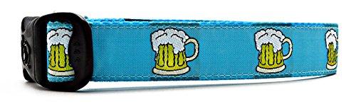 Beer-Themed Dog Collar