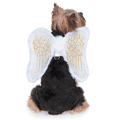 angel wings easy harness dog costume