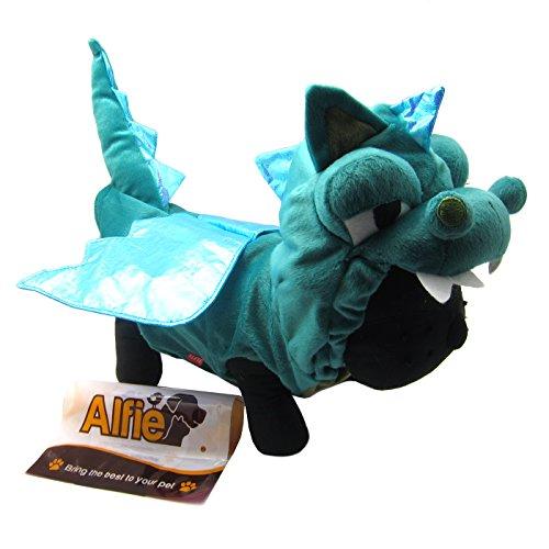 Smokie the dragon dog costume