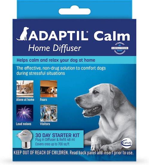 Adaptil dog calming pheromone diffuser kit