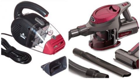 Bissell Pet Hair Eraser vs the Shark Rocket Handheld pet hair vacuum