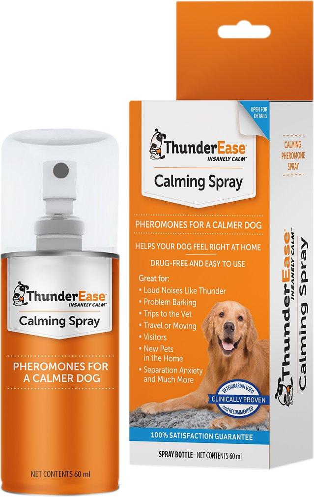 ThunderEase dog calming pheromone spray