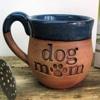 A mug that says dog mom