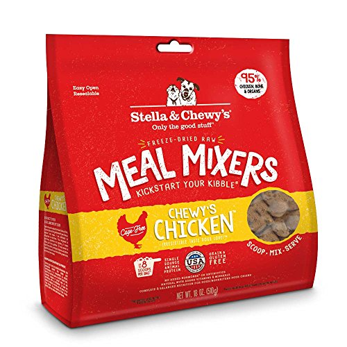 Chewy Stella & Chewy's freeze dried meal mixers raw dog food
