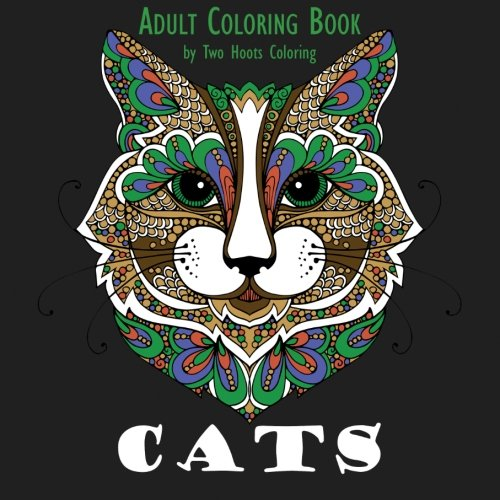 """""""Cats: Adult Coloring Book"""""""