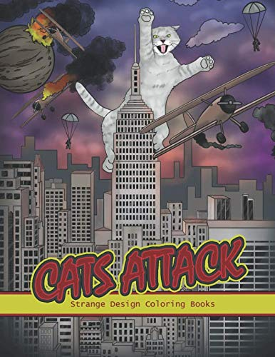 """""""Cats Attack"""" coloring book"""