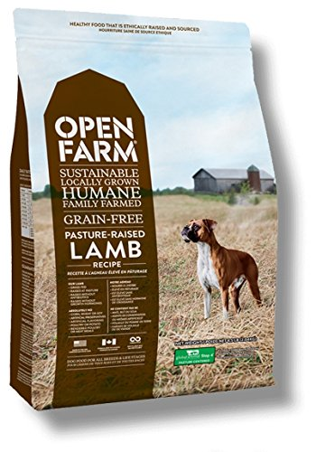 Open farm sustainably sourced dog food