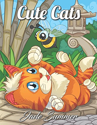 """""""Cute Cats"""" coloring pages"""