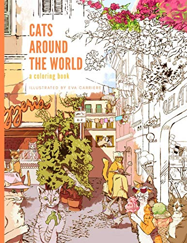 """book cover for """"Cats Around the World"""""""