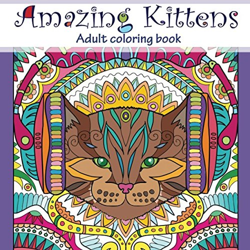 """cover of """"Amazing Kittens"""" coloring book"""