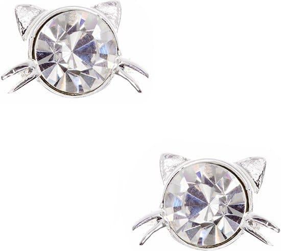 Pet Friends cat earrings for cat moms