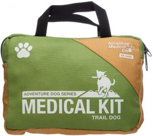 First Aid trail dog kit for dog moms
