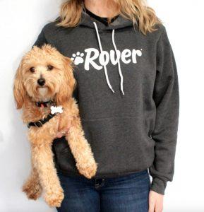 Rover unisex dog mom hoodie