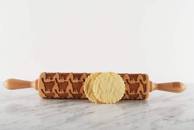 embossing rolling pin for Ragdoll cat lovers