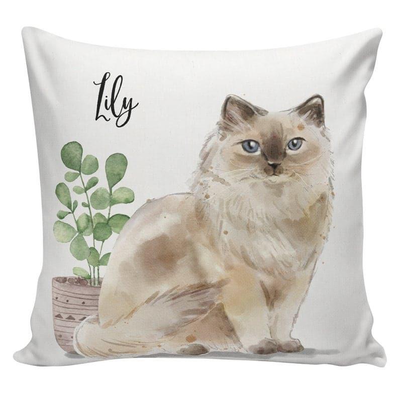 Ragdoll cat lover pillow case gift