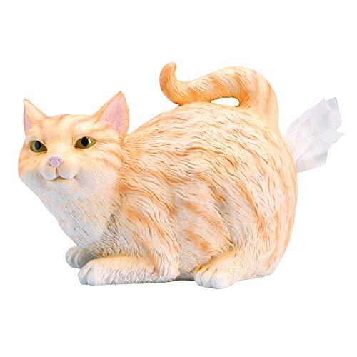 orange cat tissue holder