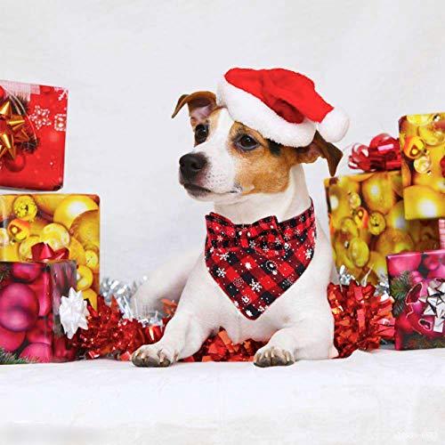 Dog Christmas Bandanas 2021 13 Festive Christmas Collars To Deck The Dog For The Holidays The Dog People By Rover Com