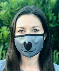 Black Friday pet deal dog nose cloth face mask