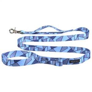 West Paw blue patterned leash