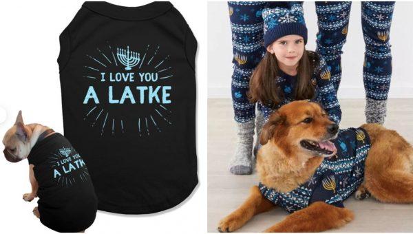 hanukkah dog sweaters