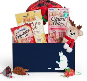 Goody Box holiday toys and treats for cats Cyber Monday deal