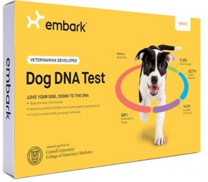 Embark Vet Dog DNA test kit Cyber Monday pet deal