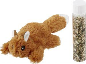 refillable catnip cat toy