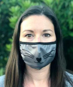 cat cloth face mask