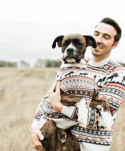 The Great Yukon sweater for dogs and humans