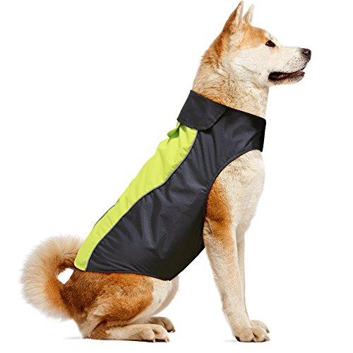 Vizpet dog raincoat for running and walking