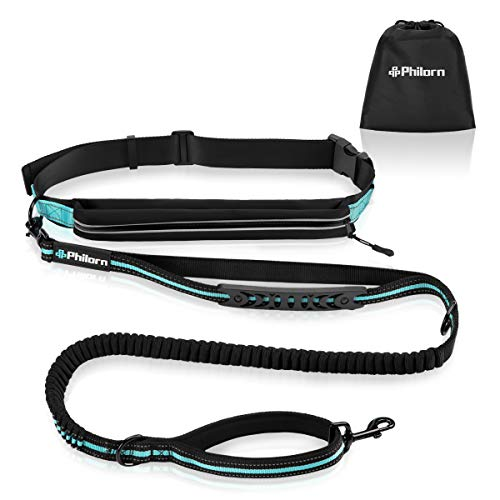 Philorn hands-free dog leash for running