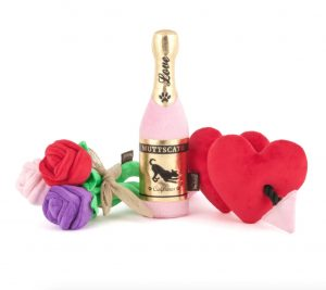P.L.A.Y. Puppy Love dog toy valentine gift set