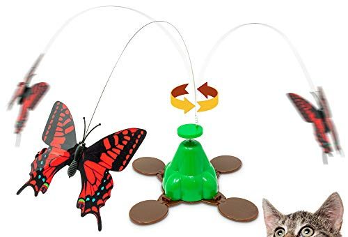cat toys pet zone fly by spinner