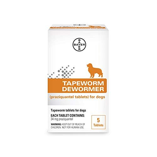 Bayer tapeworm dewormer