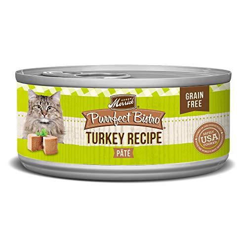 Merrick turkey recipe grain-free cat food
