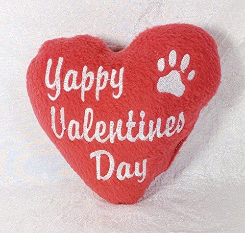 """Yappy Valentine's Day"" heart toy"